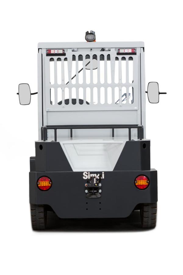 Toyota-Gabelstapler-ITL Transportmaschinen GmbH Toyota Gabelstapler Simai Elektroschlepper TE152 16916