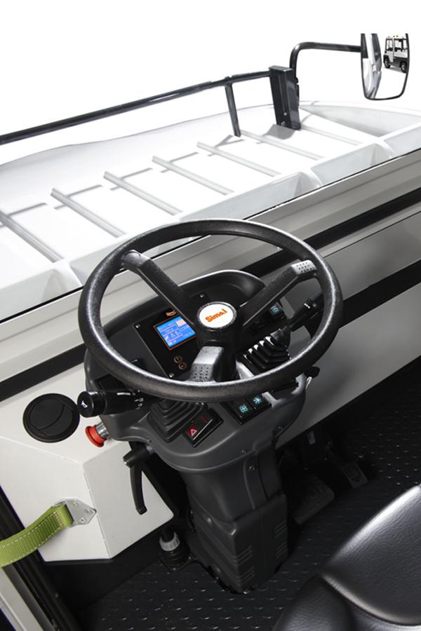 Toyota-Gabelstapler-ITL Transportmaschinen GmbH Toyota Gabelstapler Simai Elektroschlepper TE250R 16921 klein