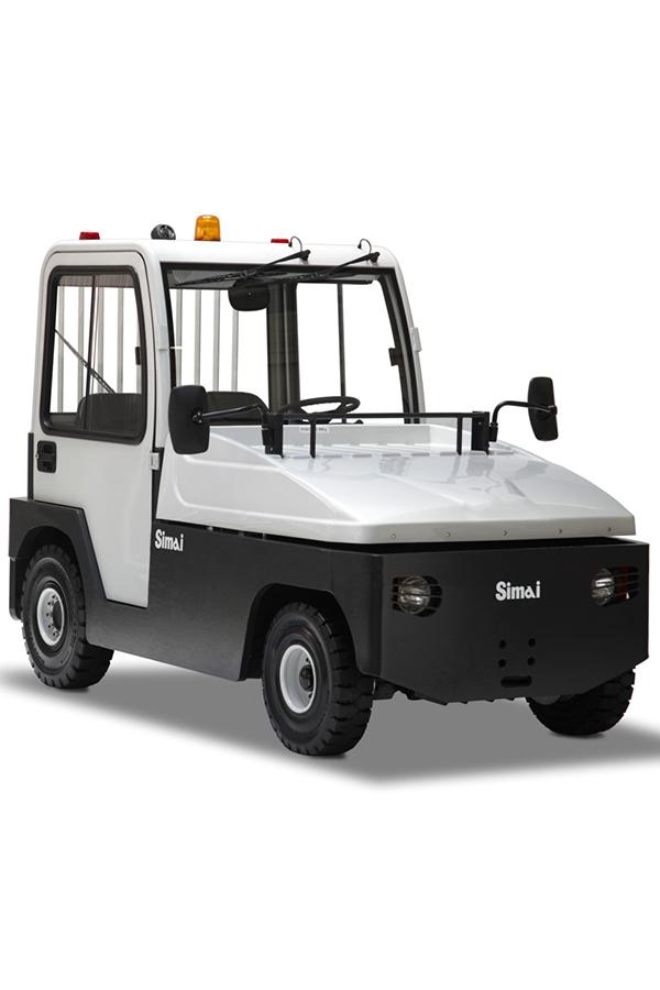 Toyota-Gabelstapler-ITL Transportmaschinen GmbH Toyota Gabelstapler Simai Elektroschlepper TE250R 16924 klein