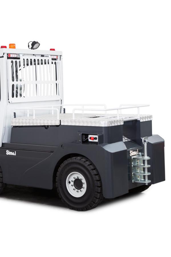 Toyota-Gabelstapler-ITL Transportmaschinen GmbH Toyota Gabelstapler Simai Elektroschlepper TE291 16931