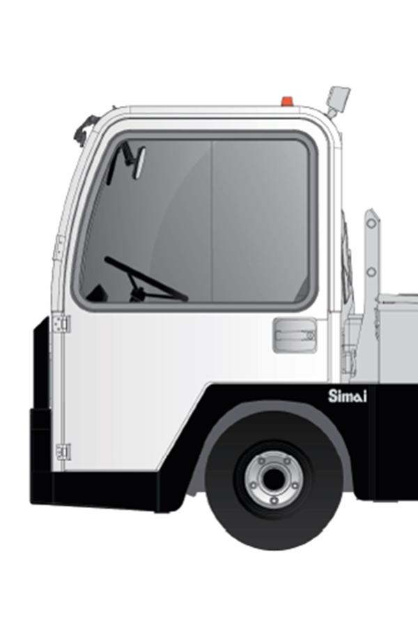 Toyota-Gabelstapler-ITL Transportmaschinen GmbH Toyota Gabelstapler Simai Elektroschlepper TE500RR PPT1 Galarie