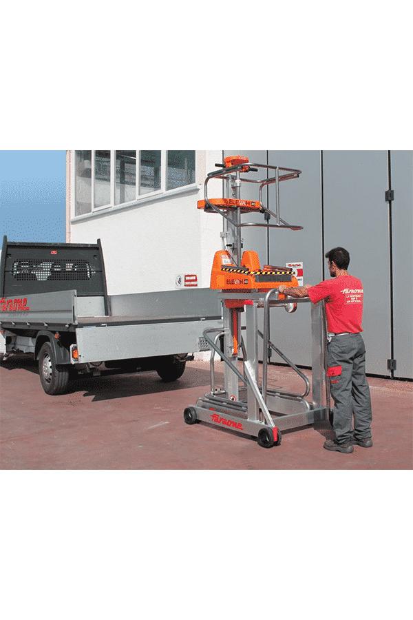 Toyota-Gabelstapler-ITL Transportmaschinen Lagertechnik Faraone Elevah 40 Move Hebebuehne Arbeitsbuehne 10 Detailansicht
