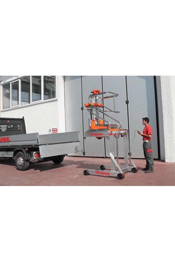 Toyota-Gabelstapler-ITL Transportmaschinen Lagertechnik Faraone Elevah 40 Move Hebebuehne Arbeitsbuehne 9 Detailansicht