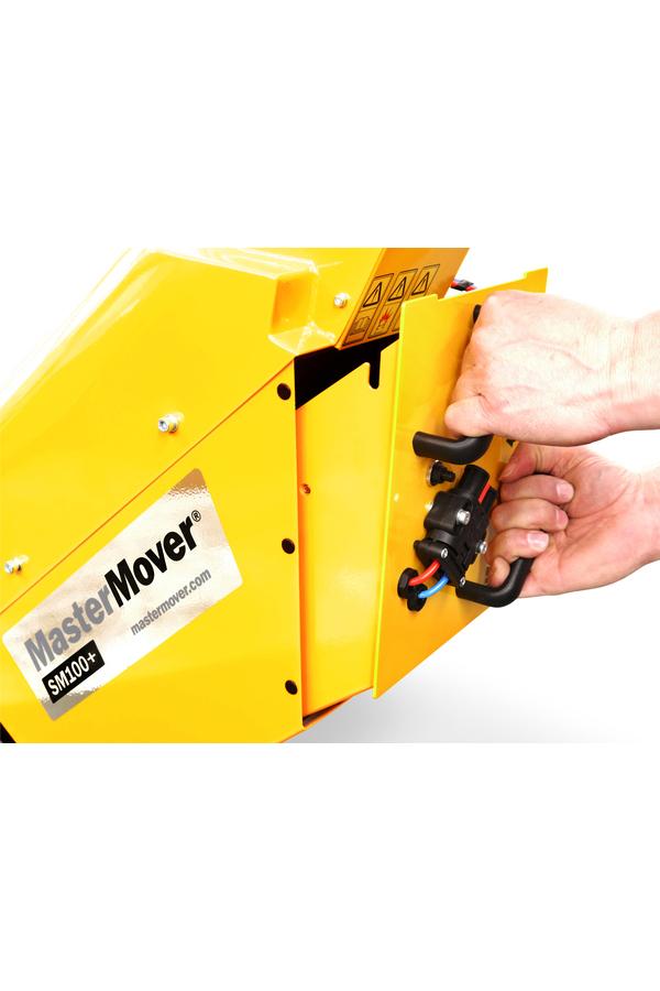 Toyota-Gabelstapler-ITL Transportmaschinen MasterMover Elektroschlepper SM100 details5