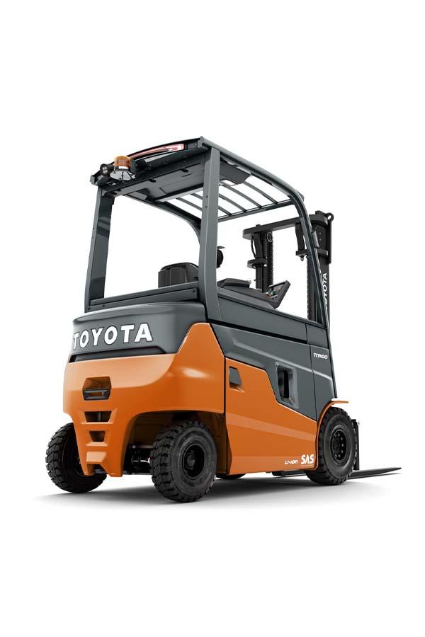 Toyota-Gabelstapler-ITL Transportmaschinen Toyota Elektrostapler Traigo 80 detail03
