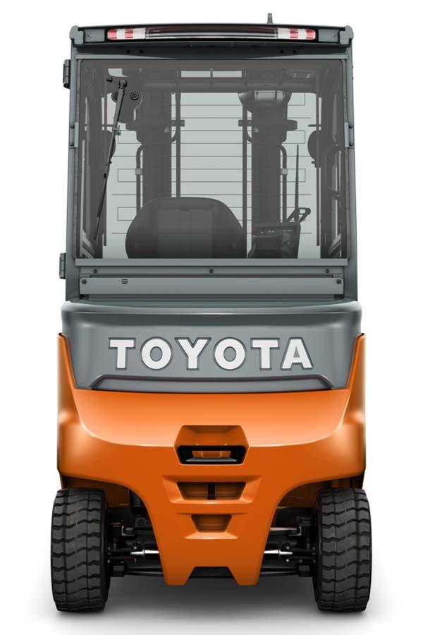 Toyota-Gabelstapler-ITL Transportmaschinen Toyota Elektrostapler Traigo 80 detail04
