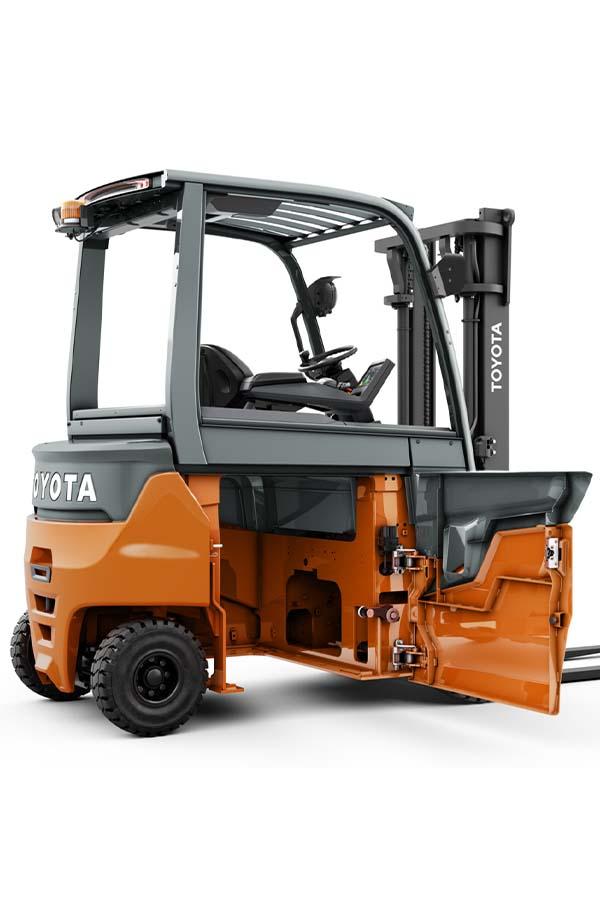 Toyota-Gabelstapler-ITL Transportmaschinen Toyota Elektrostapler Traigo 80 detail05