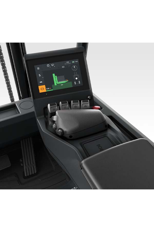 Toyota-Gabelstapler-ITL Transportmaschinen Toyota Elektrostapler Traigo 80 detail12