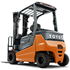 Toyota-Gabelstapler-ITL Transportmaschinen Toyota Elektrostapler Traigo 80 icon