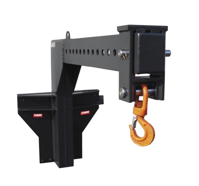Kranarm manuell – Gabelzinken montiert GAB 1 Produktbild 1