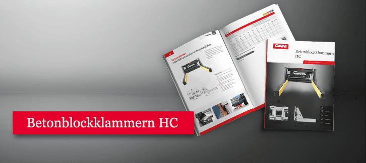Toyota-Gabelstapler-Produkt Betonblockklammern Selbstkompensierende Armauflagen HC Produkt Download