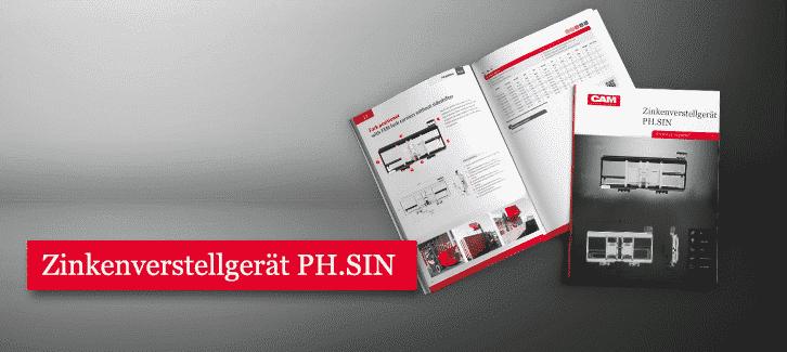 Toyota-Gabelstapler-Zinkenversteller PH.SIN Datenblatt Download