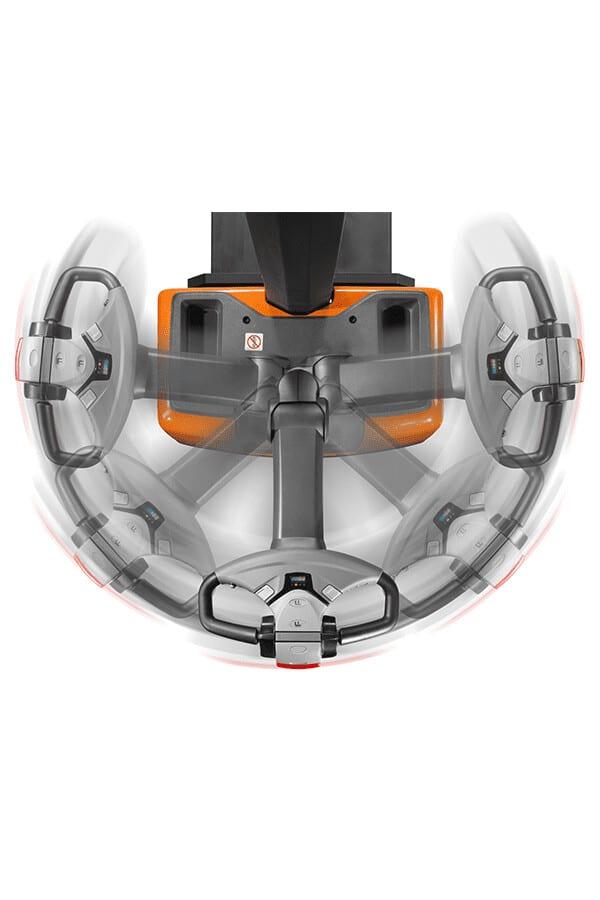 Toyota-Gabelstapler-bt staxio hwe100 steering arm rotation LO 14910.jpg