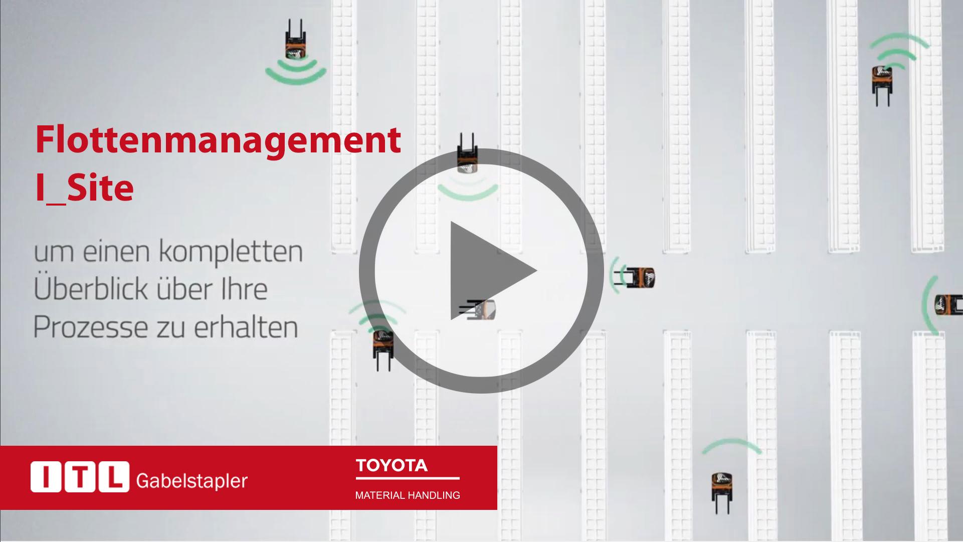 Toyota-Gabelstapler-itl gabelstapler flottenmanagement i site play