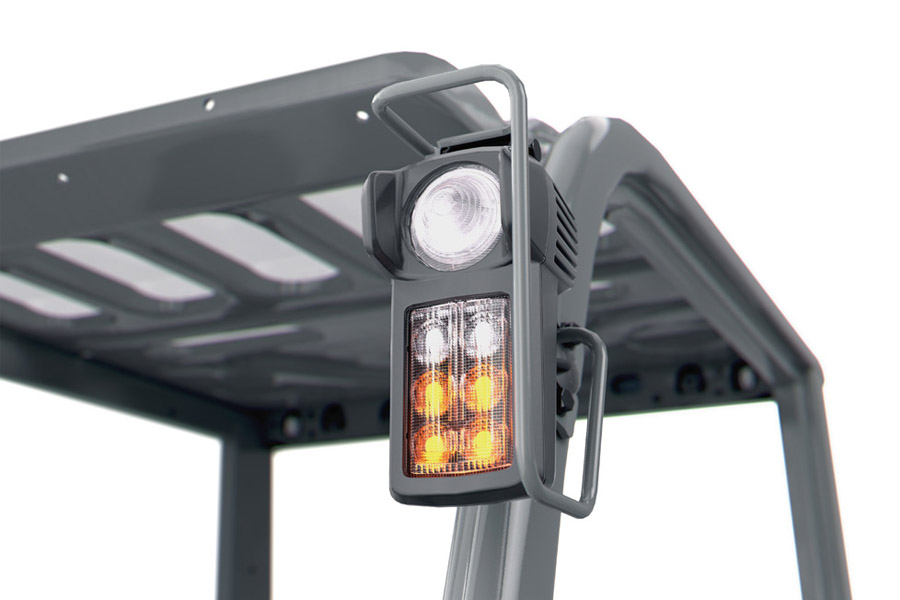 ITL Gabelstapler Neuer Toyota HST hydrostatischer Antrieb Front Lampe