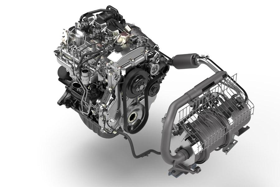 ITL Gabelstapler Neuer Toyota HST hydrostatischer Antrieb Stufe V Motor