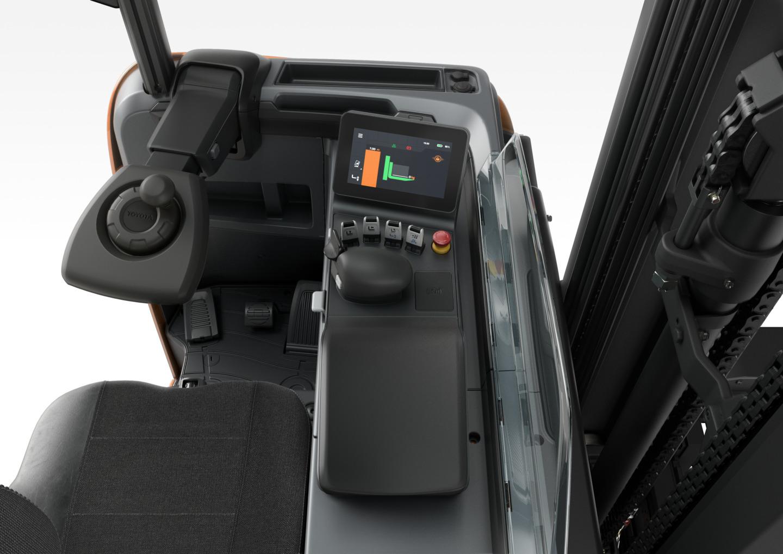 ITL Gabelstapler Toyota Schubmaststapler BT Reflex Neue Generation