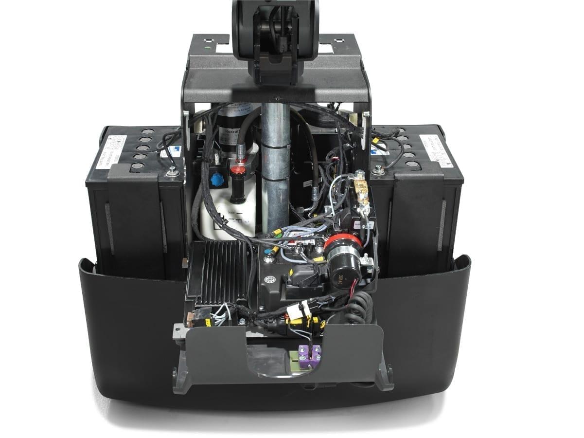 Toyota-Gabelstapler-toyota levio lwe130 niederhubwagen